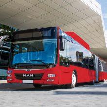 Vilniaus viešojo transporto parką papildys 50 naujų autobusų