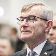 Seimo pirmininkas vyksta į JAV aptarti Baltijos regiono aktualijų