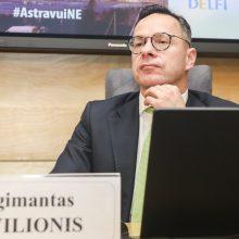 """Seimo """"valstiečiai"""" renka parašus dėl Ž. Pavilionio atstatydinimo"""