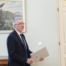 Lietuvos socialdemokratų darbo partijos pirmininkas Gediminas Kirkilas
