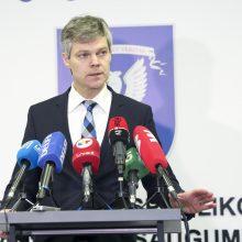 VSD vadovas: negali būti nė kalbos apie spaudimą pranešėjui