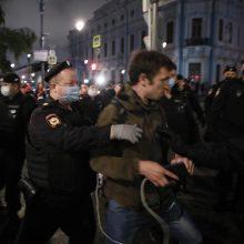 Baltarusiai nepaisė milicijos smurto – tęsė protestus prieš A. Lukašenką