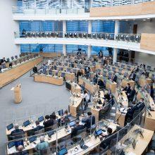 Seimui teikiamos pataisas dėl galimybės ES piliečiams Lietuvoje steigti partijas