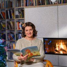 Naujųjų metų išvakarėse D. Nausėdienė skaitė pasaką sergantiems vaikams