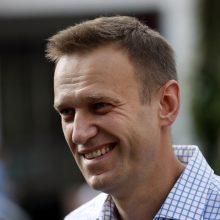 Į Rusiją iš Vokietijos sugrįžtančiam A. Navalnui gresia areštas