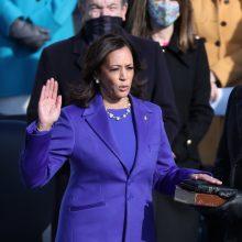 JAV viceprezidentei K. Harris inauguracijos proga – I. Šimonytės sveikinimai