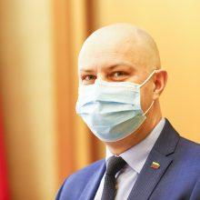 A. Veryga sveikina ketinimus jungti ligonines didžiuosiuose miestuose