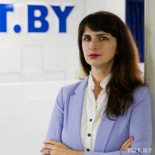 Baltarusijos žurnalistė Katsiaryna Barysevič