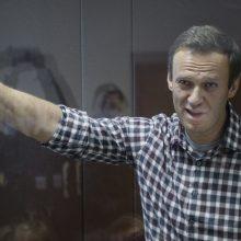 Europos Taryba paragino Rusiją nedelsiant išlaisvinti A. Navalną