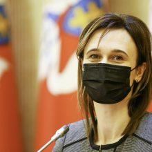 Seimo pirmininkė: nesusitarus dėl tiesioginių merų rinkimų būtų žengtas žingsnis atgal