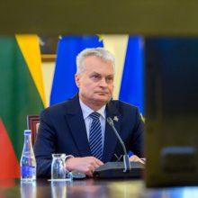 G. Nausėda apie padėtį Ukrainoje: negalime toleruoti Kremliaus bauginimų