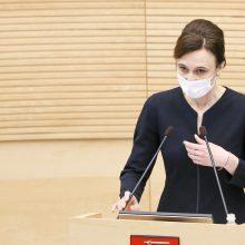 Į Kijevą vizitą planuoja ir Seimo pirmininkė: Lietuva privalo būti aktyvi