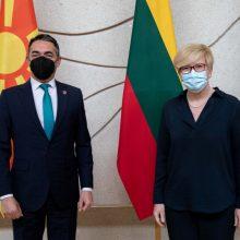Premjerė: Rusija išlieka didžiausia grėsme euroatlantiniam saugumui