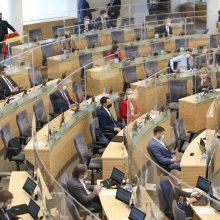 Svarstys projektą dėl Seimo narių darbo sąlygų: įteisinti atostogų nebežada?
