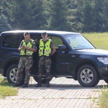 Praėjusią parą pasieniečiai į Lietuvą neįleido pusšimčio migrantų