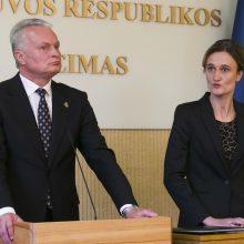 Seimo vadovė mano, kad ras kompromisą su prezidentu dėl partnerystės apibrėžimo