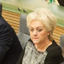 Seimo NSGK nariai prašo paviešinti informaciją apie I. Rozovą
