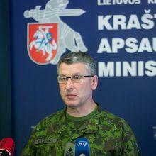 Seimas pritarė V. Rupšio skyrimui kariuomenės vadu