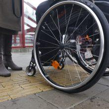Atidėta prievolė geležinkelį pritaikyti neįgaliesiems