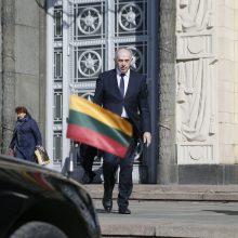 Ambasadorius R. Motuzas grįžta dirbti į Maskvą