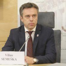 Konservatorius V. Semeška traukiasi iš VRK: kandidatuos į Seimą