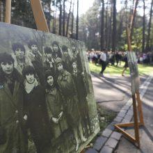Žydų genocido aukų atminimo dieną – gyvųjų maršas į Panerius
