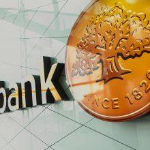 Banko klientai nebeturės galimybės naudotis kodų kortele
