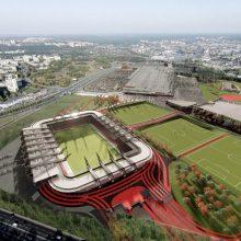 Nacionaliniam stadionui 50 mln. eurų teks rasti iš miesto kišenės
