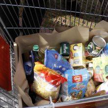 Spalį nepasiturinčiuosius pasieks 892 tonos maisto produktų