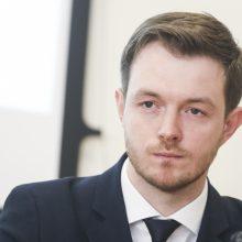 Lietuvos banko Finansinio stabilumo departamento direktorius Jokūbas Markevičius