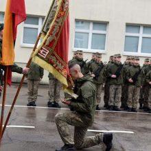 Karo akademijos kariūnai iškilmingai prisieks Lietuvos valstybei