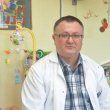 Gydytojas R. Raugalas – vienintelis nuolatinis Vaikų ligoninės neurochirurgas nuo 2008 m., konsultuojantis visus mažuosius pacientus, kuriems reikia neurochirurgo pagalbos.