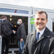 Balsą rinkimuose atidavė G. Paluckas: rinkausi mažesnę blogybę