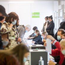 Aktyvumas išankstiniame balsavime – dukart didesnis nei pirmajame ture
