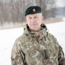 Kariuomenės vadas: karinės grėsmės Lietuvos valstybei neišnyko