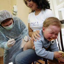 Dėl tymų protrūkių uždraudė neskiepyti vaikų dėl religinių priežasčių
