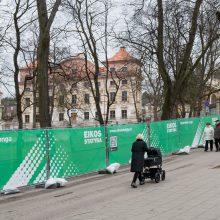 Po diskusijų dėl senų medžių kirtimo Sapiegų parkas vėl bus tvarkomas
