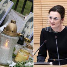 V. Čmilytė-Nielsen: negalime pamiršti prieš nelegalią valdžią protestuojančių baltarusių
