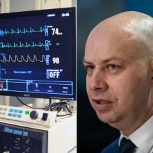 Paaiškino, kodėl gyvybinių funkcijų monitoriai surenkami iš ligoninių