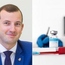 V. Sinkevičius: vakcina ES šalis gali pasiekti per tris–keturias savaites