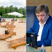 R. Karbauskis: geriau būtų pripylę smėlio į neveikiantį fontaną prie Seimo