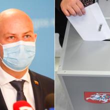 A. Veryga: visiems sudarytos sąlygos balsuoti namuose