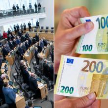 Parlamentarai Seimą paliks ne tuščiomis: gaus solidžias išeitines išmokas