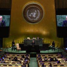Lietuvos prezidentas sakys kalbą Jungtinių Tautų Generalinėje Asamblėjoje