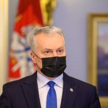 G. Nausėda su ministrais, Seimo nariais aptars situaciją Ukrainoje