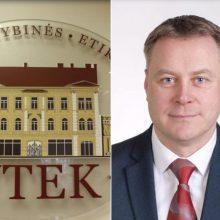 VTEK: balsuodamas už savo nusišalinimą Kretingos meras pažeidė įstatymą