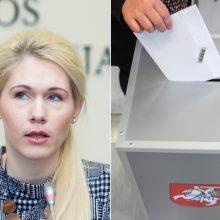 VRK vadovė apie balsavimą izoliacijoje: kai kas tiesiog tyčiojasi iš komisijos narių