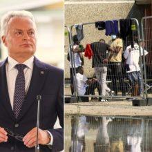 Prezidentas pasirašė pataisas dėl migrantų teisių ribojimo