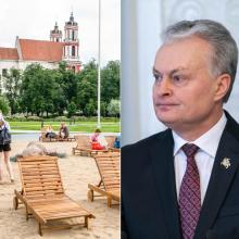 Prezidentas paskelbs, ar vetuos įstatymą dėl Lukiškių aikštės statuso