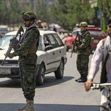 Afganistano sostinėje nugriaudėjo garsus sprogimas